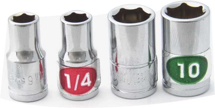 Matco Sockets with Socket Labels