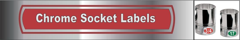 Chrome Socket Set Labels